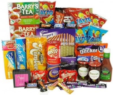 Hamper of Irish Food and Treats